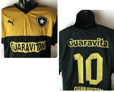 686cbaed0 Puma BOTAFOGO BRASIL Soccer Jersey Shirt Futbol Guarviton Special Edition L   10