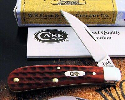 Case Sway Back Knife 2013 Issue Red Pocket Worn Tony Bose Design MIB NOS! NR