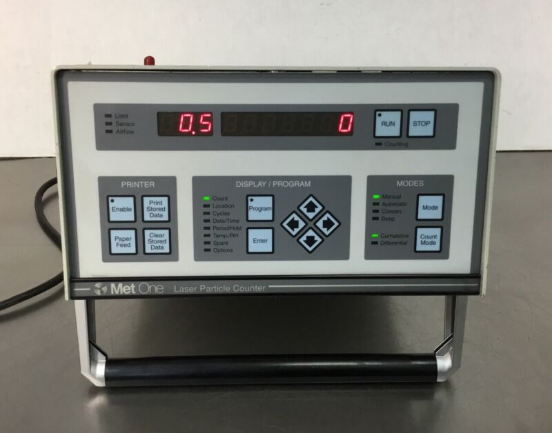 Met One A2408-1-115-1 Laser Particle Counter 2082784-01 115V~ 1A   2C