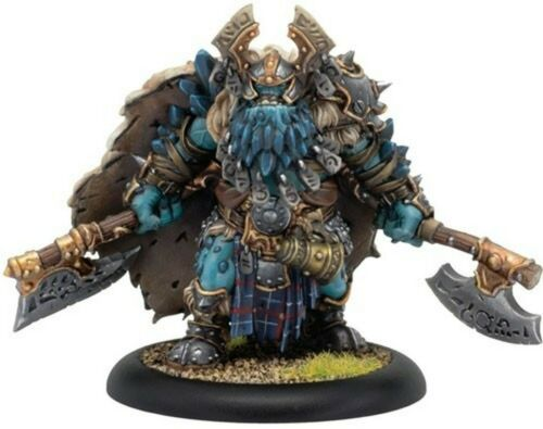 Valka Curseborn, Chieftain of the North Solo Trollbloods Hordes PIP 711116 OBO