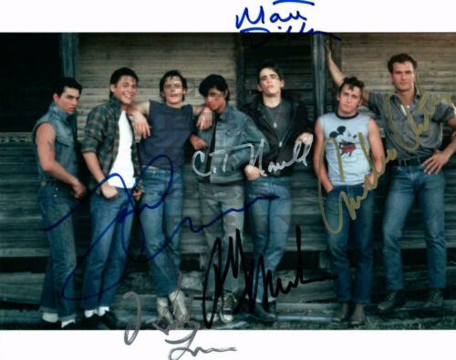 Outsiders Autographed Signed 8x10 Photo Reprint