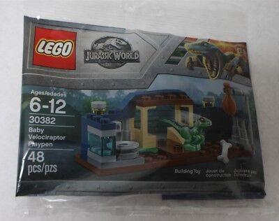 LEGO 30382 Jurassic World Baby Velociraptor Playpen 48pcs New Free Shipping