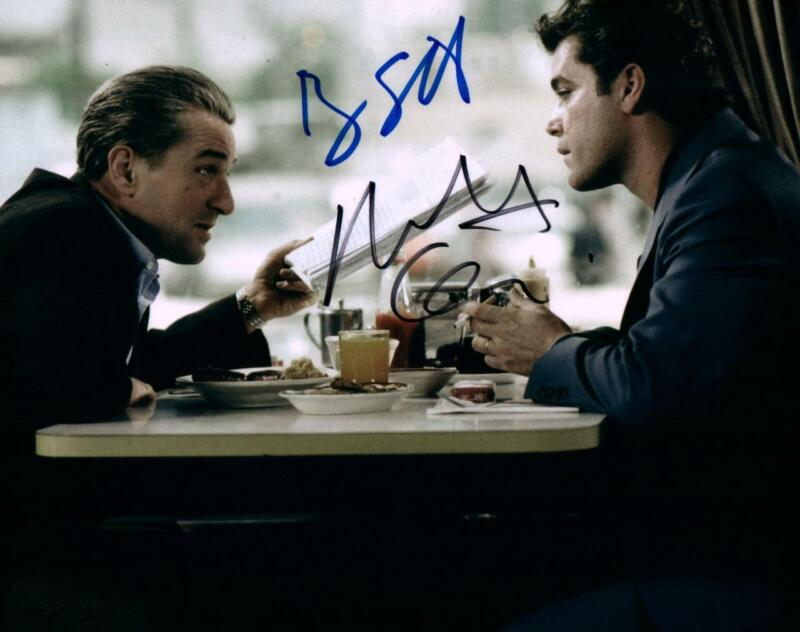 Robert Deniro Ray Liotta Signed 8x10 Autographed Photo Picture With Coa