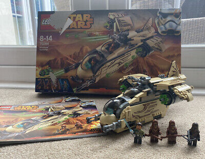 Lego Star Wars 75084 Wookie Gunship 100% Complete With Box