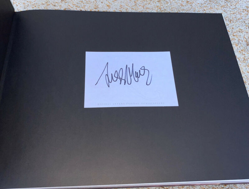 Ziggy Marley Signed Book Portrait Of The Legend
