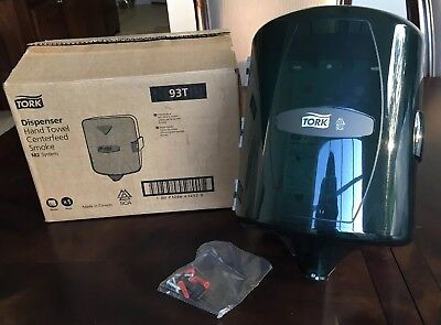 Tork Hand Towel Centerfeed Dispenser M2 System 93t Smoke New In Box