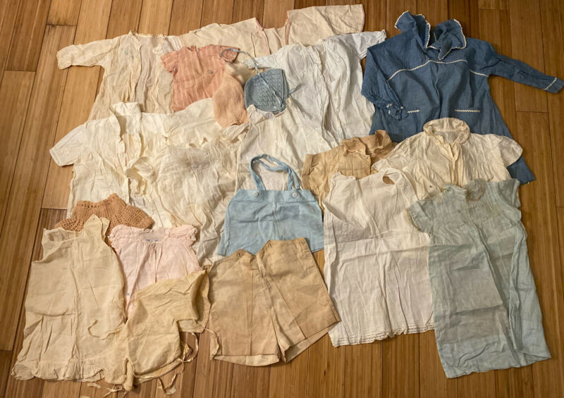 Vintage Baby Clothes Lot From 1920's