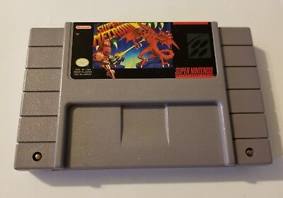 NES Super Metroid Super Nintendo Authentic Original Game Cleaned Tested Working