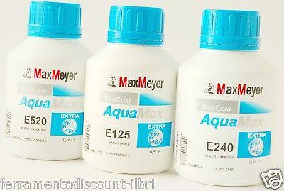 MAX MEYER AQUAMAX EXTRA COLOR BASE DE AGUA E120 240 261 262 500 520 620 740