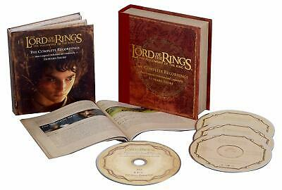 Lord of the Rings Fellowship Ring OST 3 CD Blu-ray Box Set 5.1 DTS-HD NEW SS