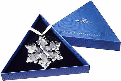 NEW 2016 Swarovski Crystal Christmas Tree Star Ornament Collectible COA Box Swarovski Christmas Star