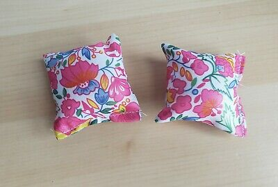 GLORIA FURNITURE BEAUTY BEDROOM PILLOW PLAY SET FOR DOLL HOUSE 2 PILLOWS ONLY