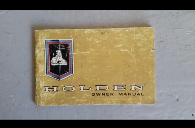 Ht holden owner manual good condition other parts accessories ht holden owner manual good condition sciox Gallery