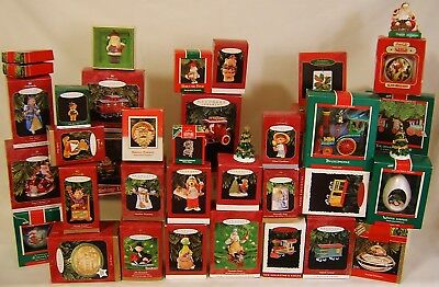 Lot 75 MINT IN BOX Hallmark Keepsake Christmas Ornaments Collectible Motion Lite