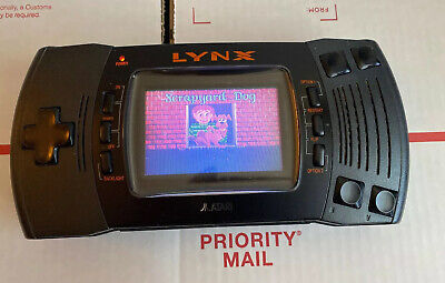 Atari Lynx II 2 system Console + Game - WORKS / TESTED - 100% Warranty