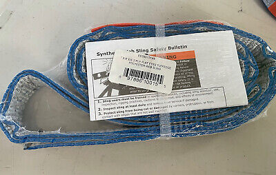 Lift-all Ee2801tfx6 Type 3 Web Sling 6 L X 1 W Tuff-edge Polyester