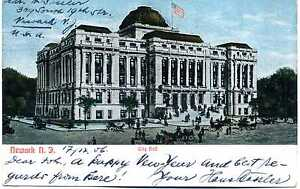 AK USA Newark N.J. City Hall ca. 1906 A_227