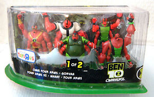 BEN 10 OMNIVERSE ALIEN COLLECTION - TEN 4