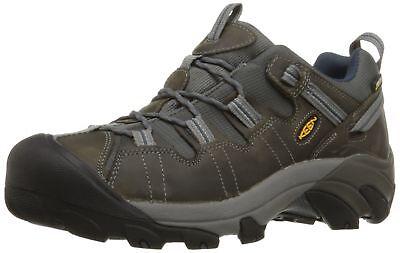 Keen Targhee Hiking Shoe - KEEN Men's Targhee II Hiking Shoe,  Gargoyle/Midnight Navy - 10 D(M) US