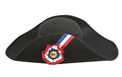 PTIT CLOWN P 'tit clown 92571–Napoleon Faux Wool Hat Adult–One - Napoleon Kostüm Hat