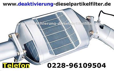 Dieselpartikelfilter Mercedes GLA W156 Deaktivieren Deaktivierung DPF off