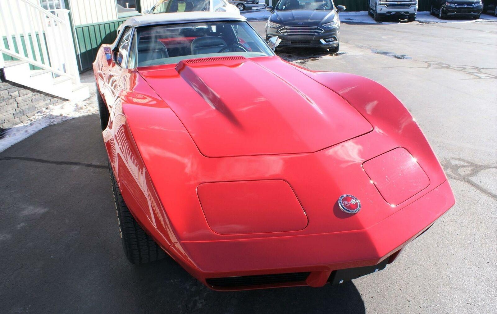 1974 Red Chevrolet Corvette  L82   C3 Corvette Photo 6