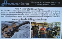 Guitar making and repair classes