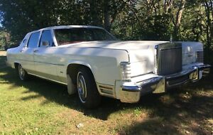 1979 Lincoln Continental mint classic town car for sale