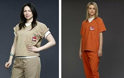 Orange Is The New Black Halloween Costume (Orange is the New Black WOMENS PRISON COSTUME ORANGE or KHAKI Cosplay)