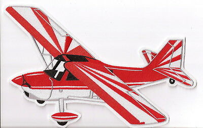 CITABRIA Airplane Aircrarft Aviation Collectable Patch Jacket Size Red/White