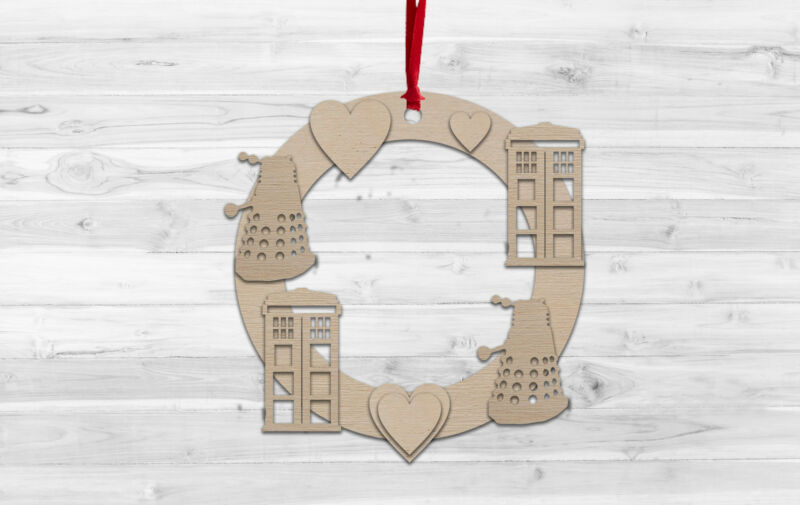Doctor+Who+Christmas+Wall+hanging+Decoration+Decorate%2C+Paint%2C+Kids+Craft%2C+DIY