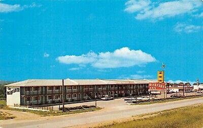 Dickman's Wayfarer Inn  Route 66 Roadside Street Scene Rolla,MO Vtg Postcard  (Wayfarer Road)