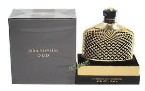 John Varvatos OUD Eau De Perfume Spray 4.2 oz /125 ml New In Box. New Lunch