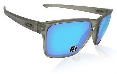 Oakley Sliver XL Grey Ink frame Sapphire Iridium Polarized lens OO9341-0357 NIB
