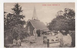 Stoke Poges Church, H.G. Stone Postcard, A853