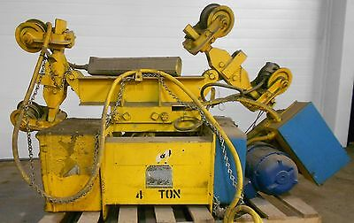 R&M Electric Hoist Robbins & Myer Inc. Type E3A 3 Phase 440v Cap. 5Tons 17823LR