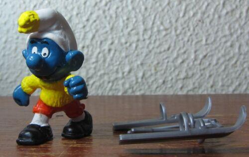 Smurfs - 40205 - MINT - Skier Smurf!
