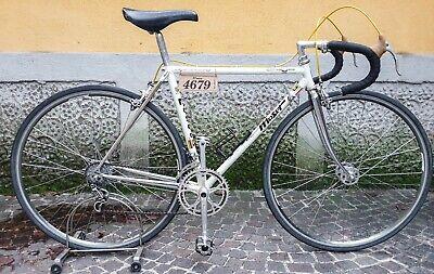 Retro MTB Fahrrad Pedalhaken mt christophe Kunststoff grau Gr M NOS