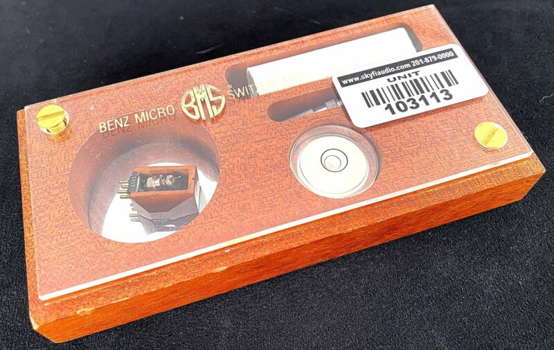 Benz Micro REF MC (Moving-Coil) Cartridge In Original Box