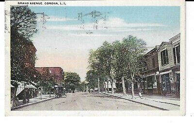 CORONA QUEEN GRAND AVE BECAME ROOSEVELT AVE BEFORE ELEVATED TRAIN TO FLUSHING (Roosevelt Ave Flushing)