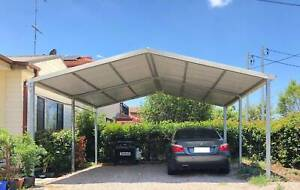 Factory moving Brand new Gable roof carport, 6M wide X 6M long x 3.3M Canberra City North Canberra Preview
