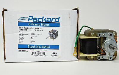 65123 Draft Inducer Furnace Blower Motor For Carrier Hc21ze123a Bryant Payne