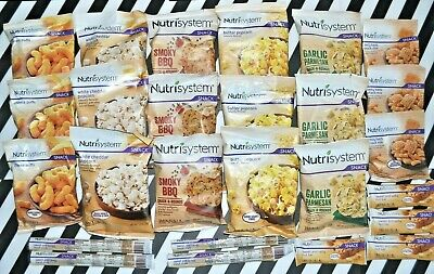 Nutrisystem lot of 26 Chips Snack Mix Popcorn etc -On the GO Snacks-see listing  - On The Go Snacks