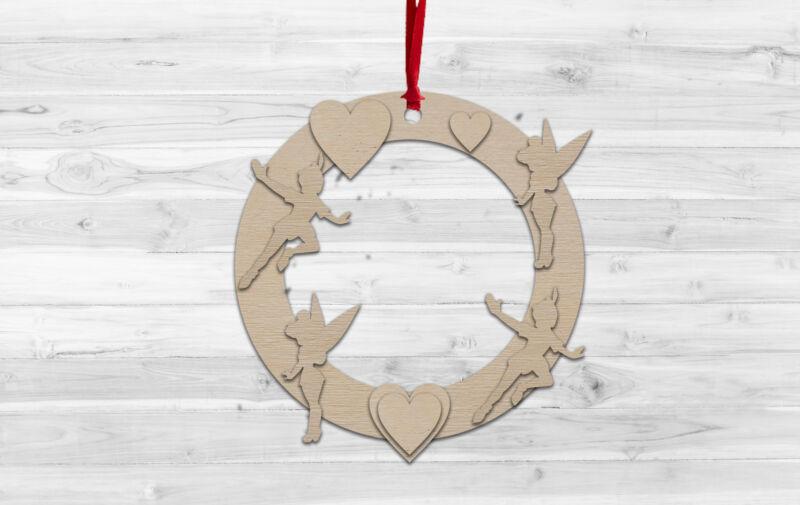 Tinkerbell+Christmas+Wall+hanging+Decoration+Decorate%2C+Paint%2C+Kids+Craft%2C+DIY