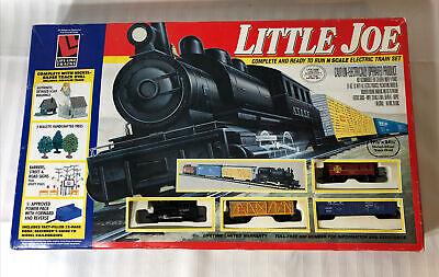 Vintage Little Joe Train Set Life-LikeTrains W/ Sealed Pieces