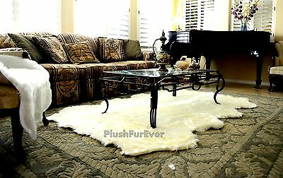 - Premium Faux Fur Shaggy Octo Sheepskin Bearskin Shag Fur Flokati Rugs USA