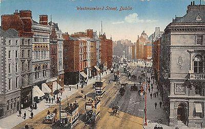 BR97600 westmoreland street dublin double decker tramway valentine 59009 ireland