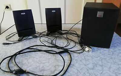 Labtec Pulse 375 Soundsystem 2.1 ( 2 Speaker + 1 Subwoofer) schwarz