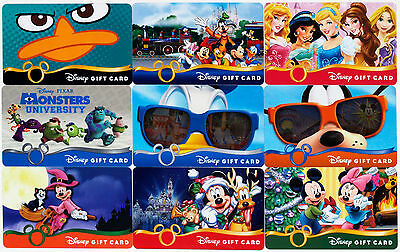 All 9 Disney Gift Cards 2013: Princesses, Monsters Univ., Halloween, Christmas + - Disney Halloween Gift Cards