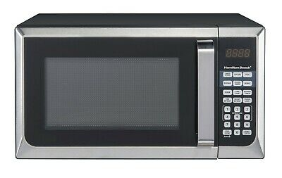 Microwave Oven Stainless Steel .9 Cu Ft #1 BEST VALUE Modern Compact Countertop